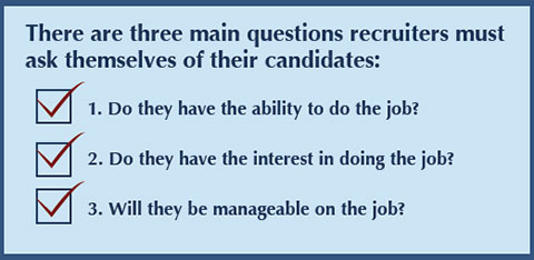 how to close an interview and ask for the job